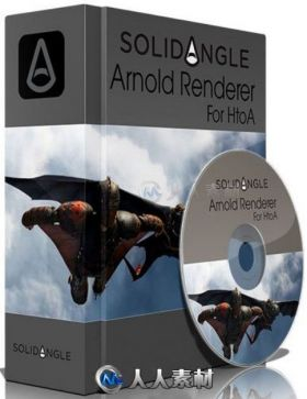 ARNOLD渲染器Houdini插件V2.1.1版 SOLID ANGLE HOUDINI TO ARNOLD 2.1.1 FOR HOUDINI