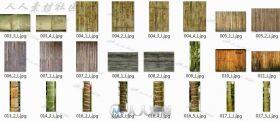 一些竹子的高清贴图素材