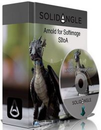 Arnold SiToA照明渲染Softimage XSI插件V3.1.1版 Solidangle Softimage to Arnold ...